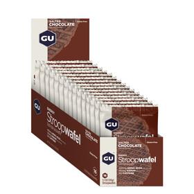 GU Energy StroopWafel - Nutrition sport - Salted Chocolate 16 x 30g